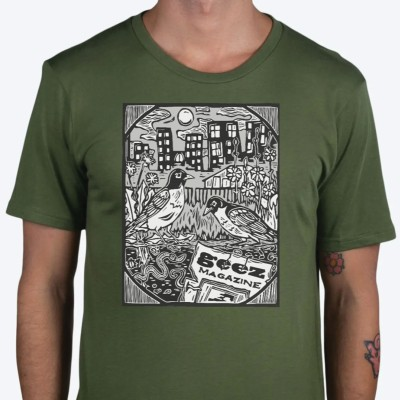 Compost Geez T-Shirt – $30 [PRE-ORDER]