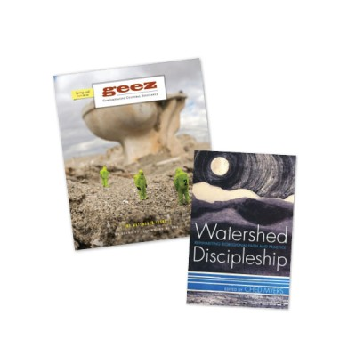 WATERSHED DISCIPLESHIP SET (1 issue and book) – $30